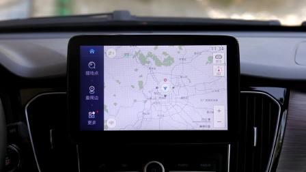 森雅R7 导航系统展示