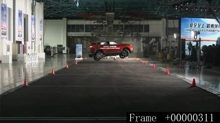 全新哈弗H6翻滚测试1