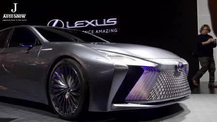 2017东京车展 全新雷克萨斯LS重装上阵
