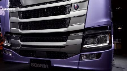 2017东京车展 斯堪尼亚Generation Truck