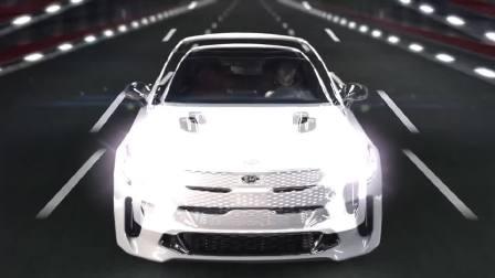 2017广州车展预热 带你近距离体验2018款起亚Stinger的美