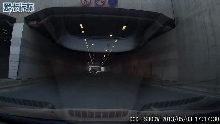 DOD LS300W 行车记录仪