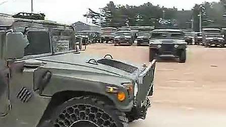 军用悍马强大的非气体轮胎