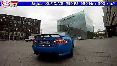 捷豹Jaguar XKR-S 70 - 300 km h 加速测试