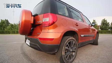6款紧凑级SUV通过性横评之斯柯达野帝