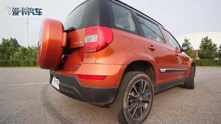 6辆SUV性能测试横评之东风日产奇骏