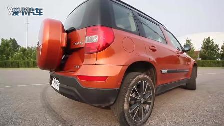 6款紧凑级SUV通过性横评之一汽丰田RAV4