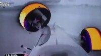 换个角度 热成像摄像机记录F1赛车车祸