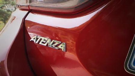 爱卡汽车赛道试驾全新马自达ATENZA