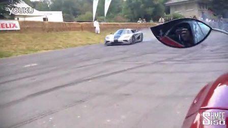 Shmee古德伍德速度节亲身体验柯尼赛格Koenigsegg One1