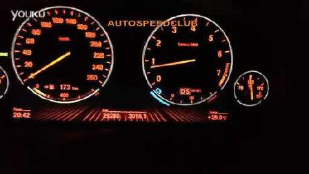 BMW730 百公里加速测试