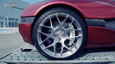 1088马力电动概念车Rimac Concept One