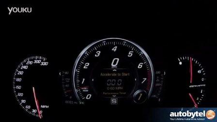 2014雪佛兰克尔维特Z51 0-60 加速实录