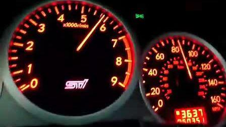 斯巴鲁 STI 0-100 MPH (160kmh) 加速