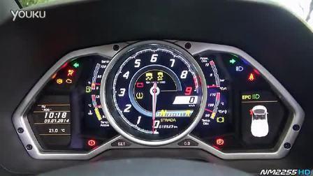 兰博基尼Lamborghini Aventador 选装运动排气声浪