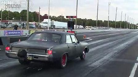 改装车直线加速测试