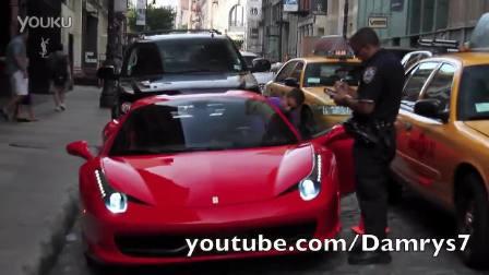 看看美国的交警是如何对待跑车违章的