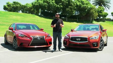2014 Infiniti Q50S vs 2014 Lexus IS350 F-Sport