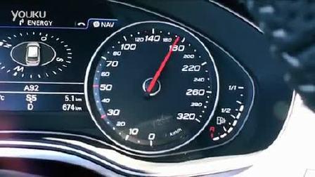 2014款奥迪 RS6 Avant 0-290km-h加速测试
