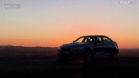 赛道实拍全新一代宝马M3