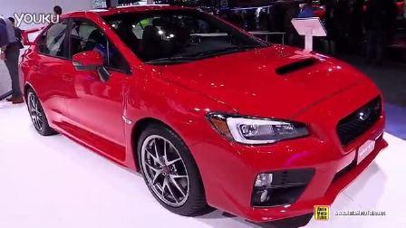 车展内外实拍2015斯巴鲁Subaru WRX STI
