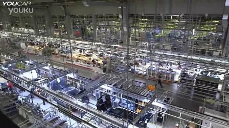 参观全新一代奔驰C级轿车生产过程