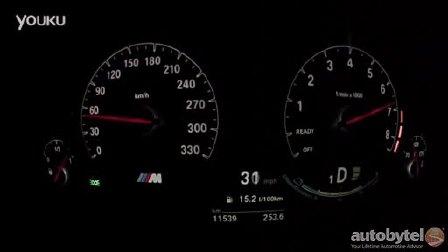 2015款宝马 M3 0 - 100km-h 加速实录