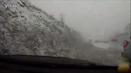 三菱Evo 8雪天上演生死穿越[超清版]