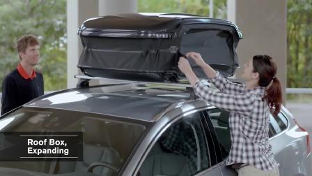 沃尔沃 V60 扩大车顶行李箱演示