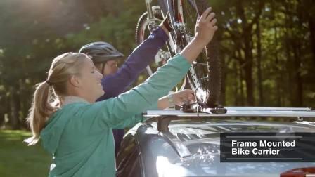 沃尔沃 XC60 安装自行车架