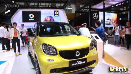 2015广州车展 全新smart forfour四门版