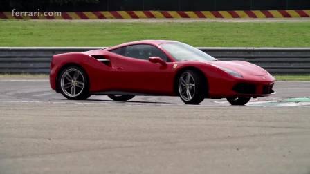 Ferrari 488 GTB 赛道展示速度与激情