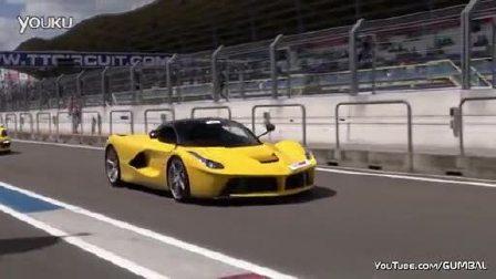 赛道实拍法拉利Ferrari LaFerrari_高清