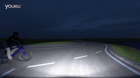 福特基于摄像头侦测自动头灯科技展示
