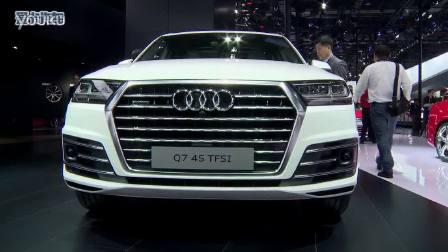 美女看车 2015上海车展奥迪全新一代Q7