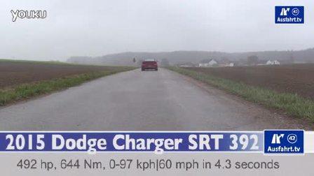 2015款道奇 Charger SRT 392起步加速