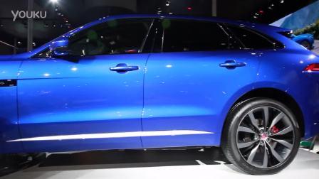 2015广州车展 全新SUV车型捷豹F-PACE