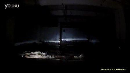 车友驾普拉多逃出被淹地库