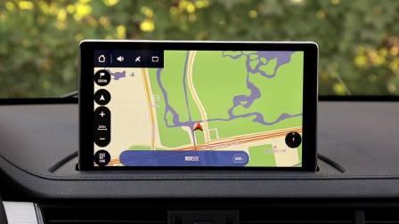 景逸X5 导航系统展示