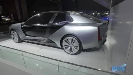 2017广州车展 观致Model K-EV