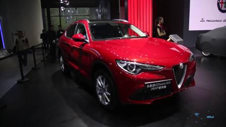 2017广州车展 阿尔法·罗密欧Stelvio 280HP