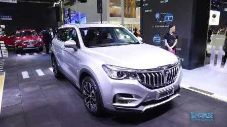 2017广州车展 中华 V6 豪华大气实用派