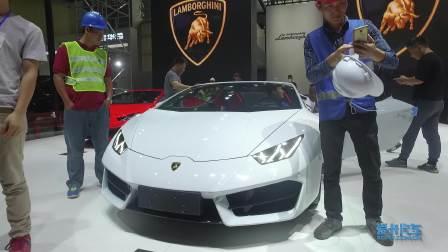 2017广州车展 兰博基尼 Huracan 敞篷版