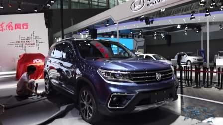2017广州车展 东风景逸X5霸气来袭