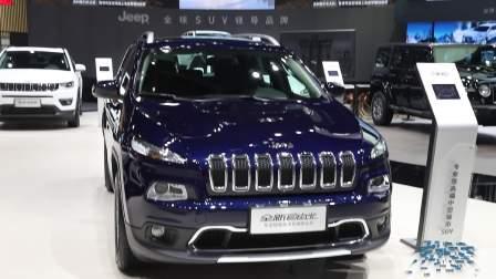 2017广州车展 Jeep自由光设计新颖