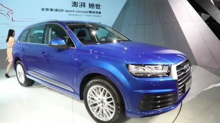 2017广州车展 奥迪 Q7 重装上阵