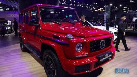 2017广州车展 奔驰 G500 designo manufaktur Edition