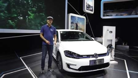 2017广州车展 大众新e-Golf登场