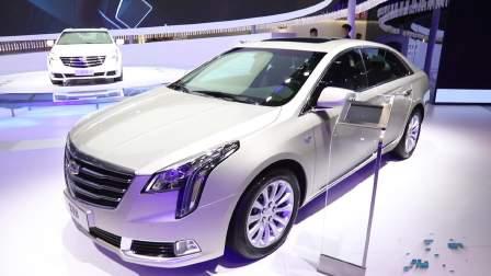 2017广州车展 凯迪拉克 XTS 重装上阵