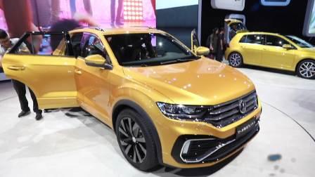 2017广州车展 大众 T-ROCSTAR